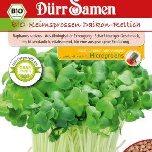 Bio Keimsprossen Daikon-Rettich online kaufen