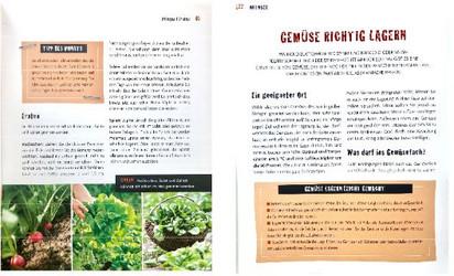 Gartenbuch Leseprobe