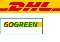 Zustellung durch DHL GoGreen