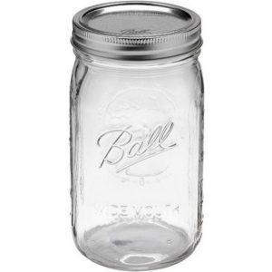 4er Pack BALL Mason Jar Aufbewahrungsglas 950ml (32oz.)