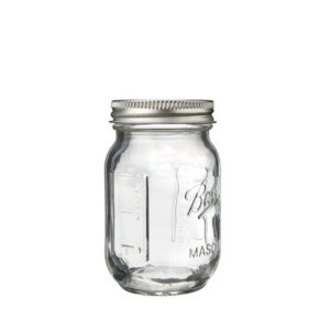 4er Pack BALL Mini Mason Jar Gewürz- & Dekoglas 120ml (4oz.)