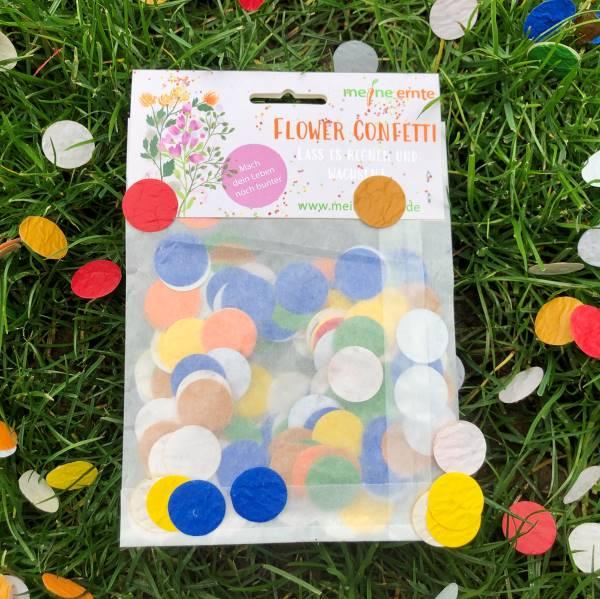 Konfetti in vielen bunten Farben