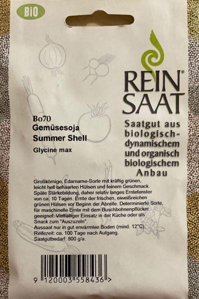 Gemüsesoja Summer Shell