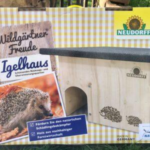 WildgärtnerFreude Igelhaus