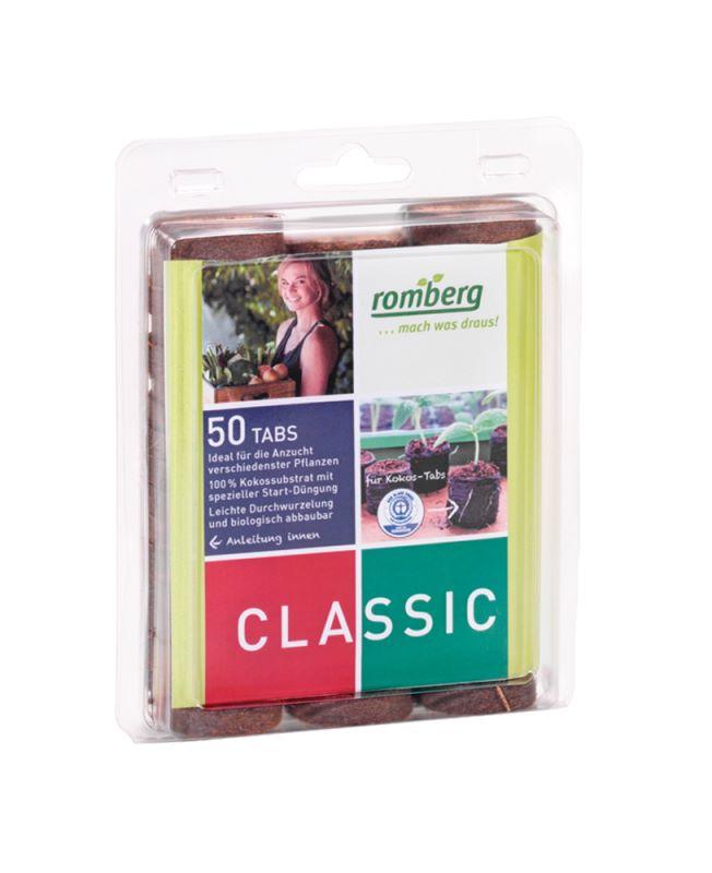 36 mm Kokos Quelltabletten (50 Stück)