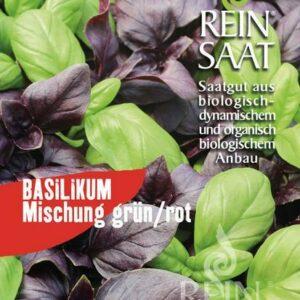 Basilikum Mischung Saatscheibe