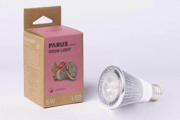 """E27 Pflanzenlampe """"Cultura"""" 6W"""
