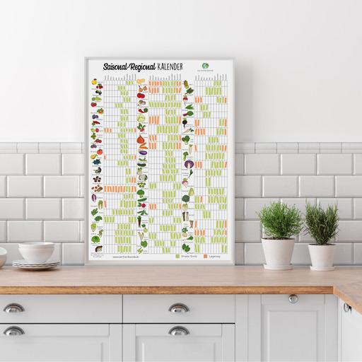 Saisonkalender Poster