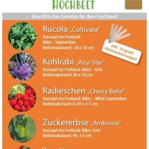 Saatgutpaket Hochbeet
