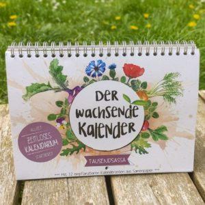 Saatgutkalender TAUSENDSASSA - Zeitlos
