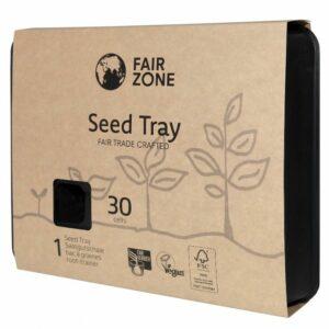 Saatgutschale aus Naturkautschuk für 30 Pflanzen