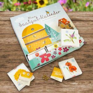 Mein Bio Saatgut Kalender für Bienenfreunde