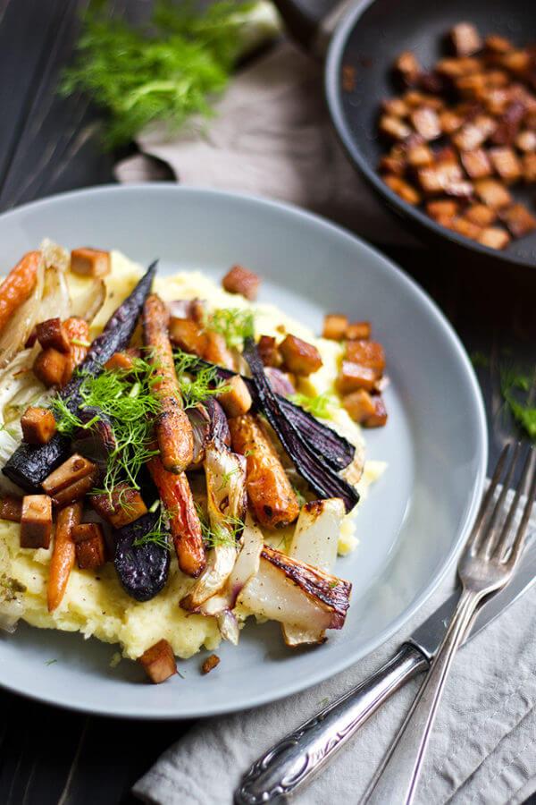 Simply Vegan: Ofengemüse