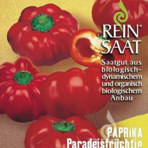 Paprika Paradeisfrüchtig Frührot