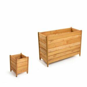 Schmaler Pflanzkasten/ Pflanzkübel für Balkon und Terrasse