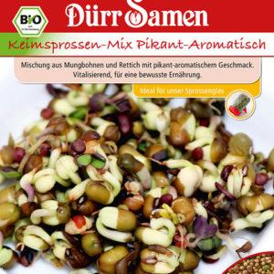 BIO-Keimsprossen Pikant-Aromatisch