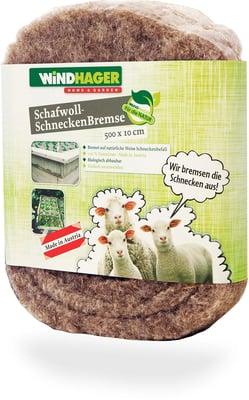 Schneckenbremse aus Schafwolle